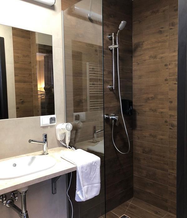 łazienka w pokoju comfort