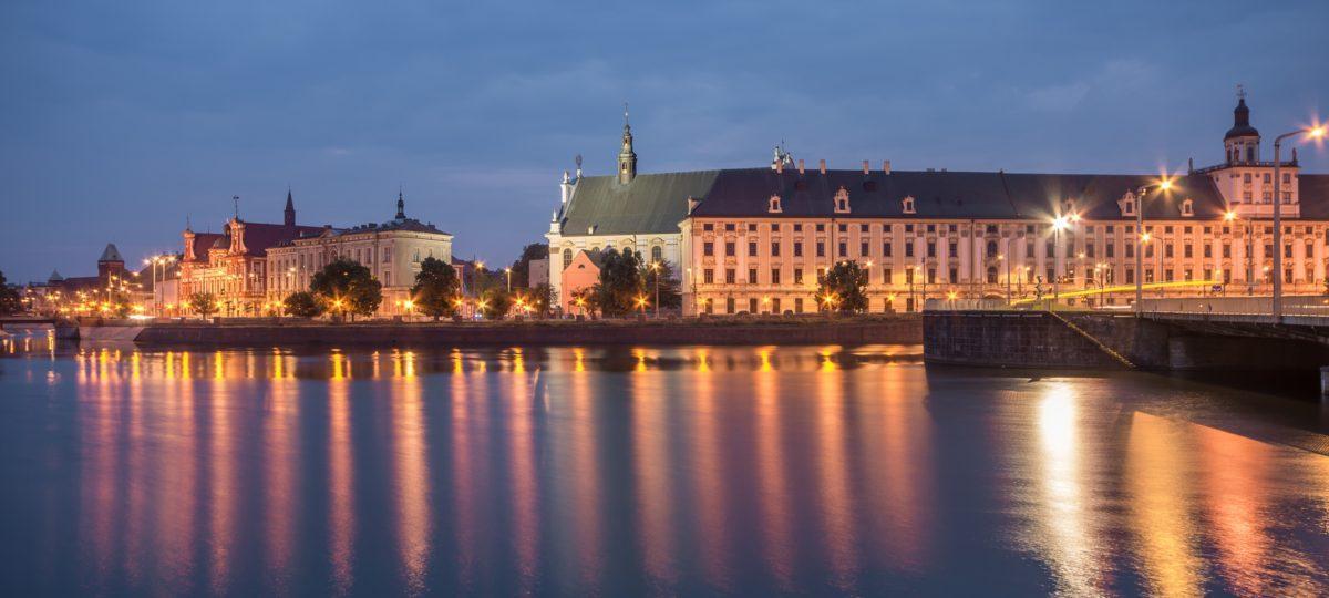 Romantyczne miasto Wrocław