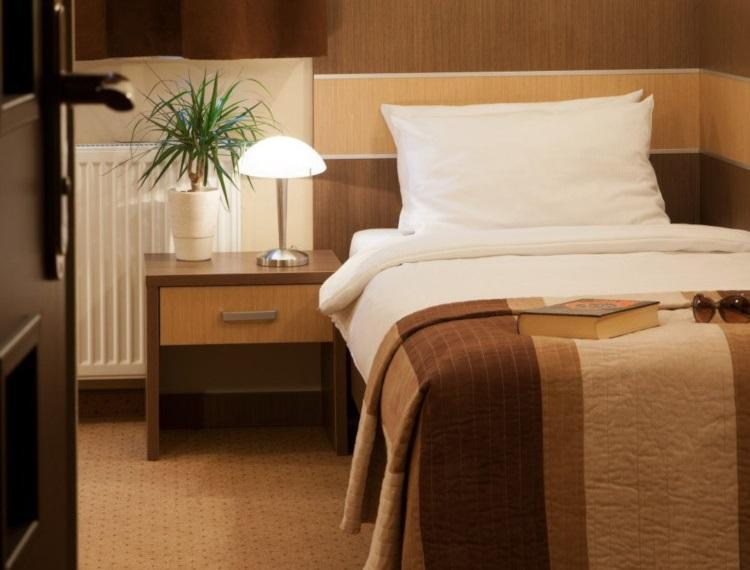 hotel sleep pokój