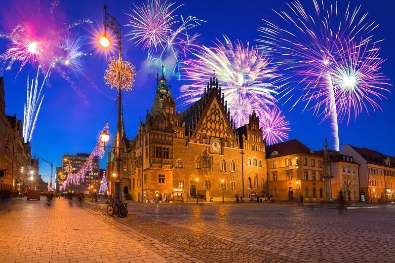 Sylwester na wrocławskim rynku – musisz to zobaczyć!